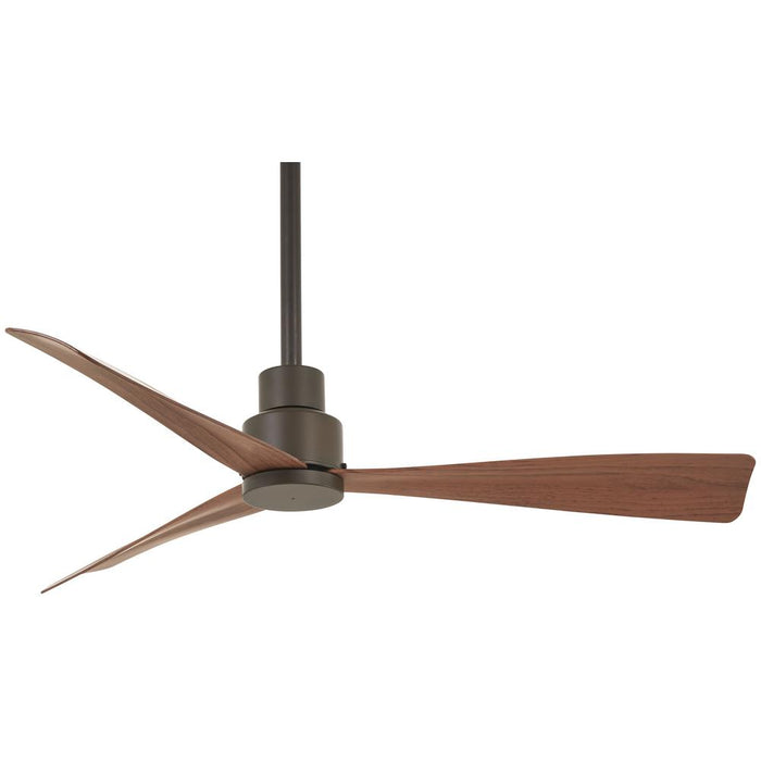 Minka Aire Simple 44 in. Indoor/Outdoor Oil Rubbed Bronze Ceiling Fan