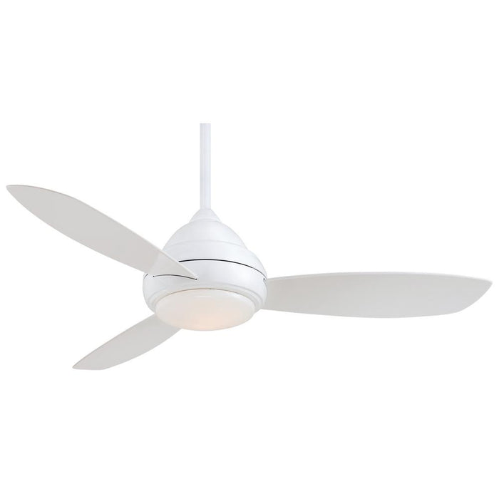 Minka Aire Concept I 52 in. LED Indoor White Ceiling Fan with Remote
