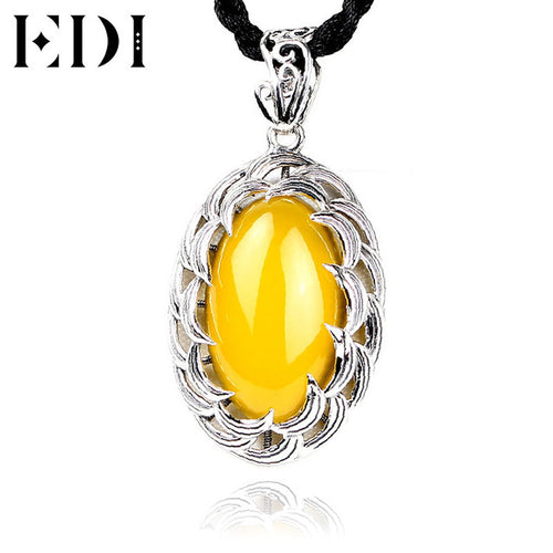925 Sterling Silver Bohemian Pendants Necklace