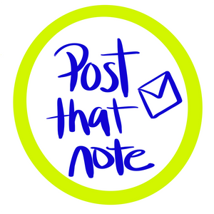 Post that note writing campaign
