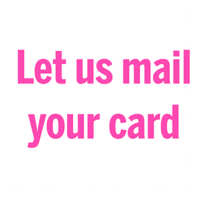 Mail my card | Postage and Mailing Service