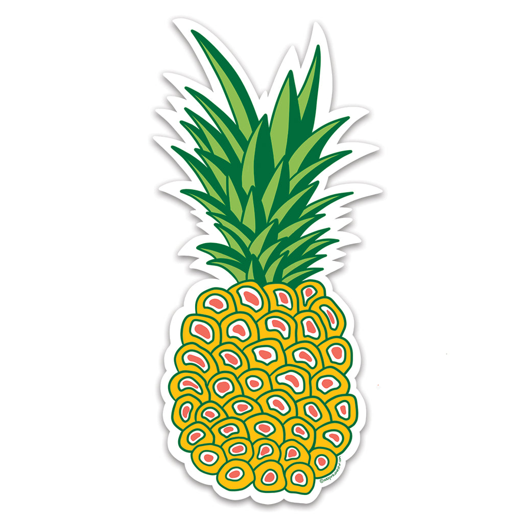 Pineapple Vinyl Sticker