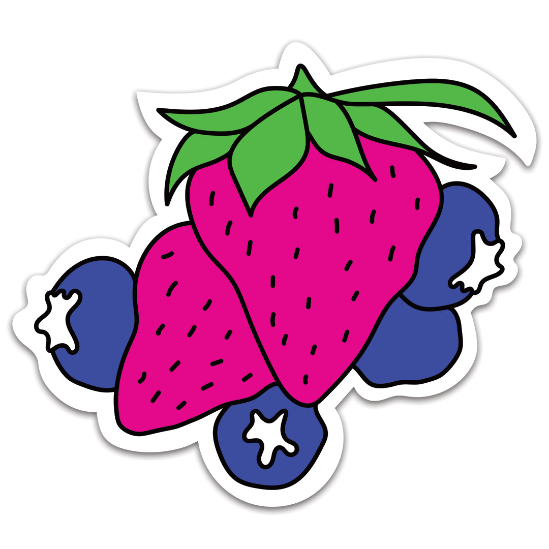 Berry Berry Cute | Waterproof Vinyl Sticker