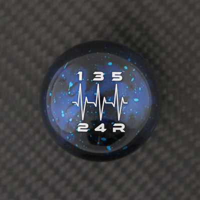 Blue Cosmic Space - 5 Speed Heartbeat Engraving - Mazda Fitment