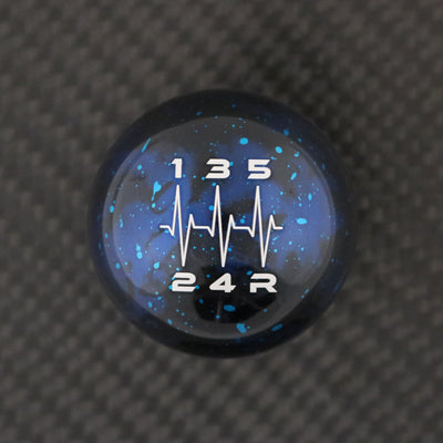 Blue Cosmic Space - 5 Speed Heartbeat Engraving - Honda Fitment