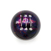 Purple Cosmic Space - 6 Speed Heartbeat Engraving - ST/RS Fitment
