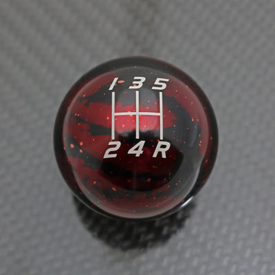 Red Cosmic Space - 5 Speed Velocity Engraving - Nissan Fitment
