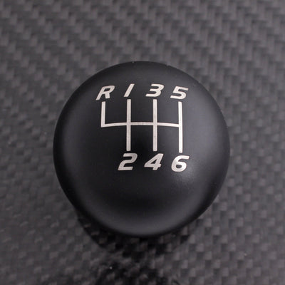 Matte Black Weighted - 6 Speed Velocity Engraving - Cruze Fitment