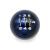 Blue Cosmic Space - 6 Speed Heartbeat RRD Engraving - Mazda Fitment
