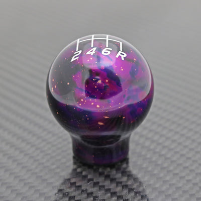 Purple Cosmic Space - 6 Speed Velocity Engraving - Nissan Fitment