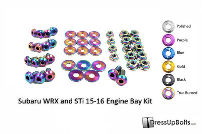 Subaru WRX/STI 2015+ Titanium Engine Bay Kit