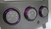 2005-07 WRX/STI Climate Control Knobs - Purple Cosmic Space