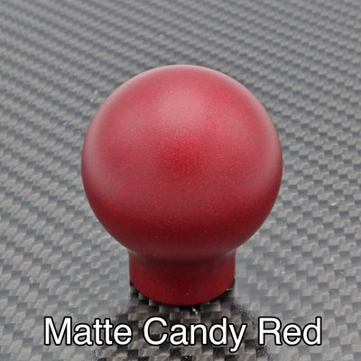 Matte Candy Red Weighted - No Engraving - Cobalt SS Fitment