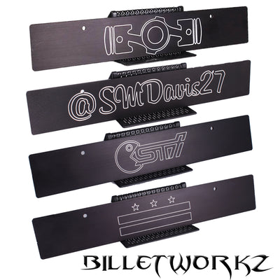 Custom Engraved Plate Delete