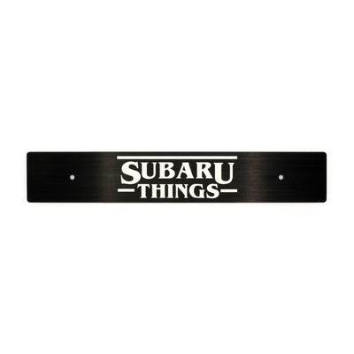 """Subaru Things"" Plate Delete"
