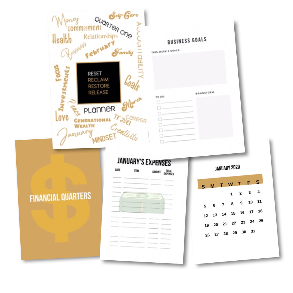 4 Quarter Planner Subscription