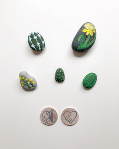 Painted Rocks for Mother's Day