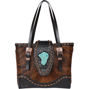The Chimney Peak I Leather Tote Bag