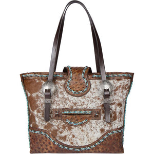 The Chimney Peak III Leather Tote Bag