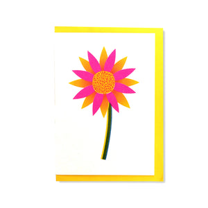 Flower Greetings Card