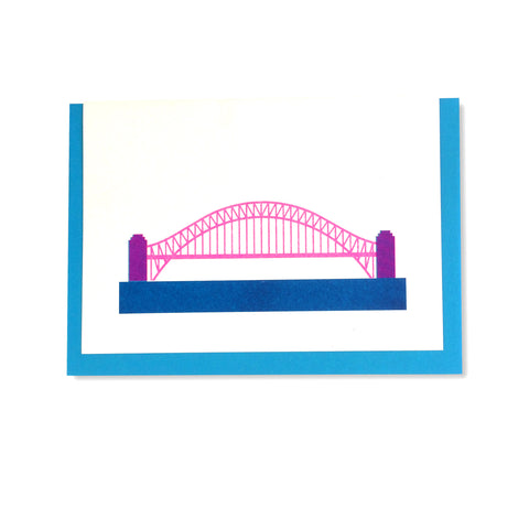 Harbour Bridge Greetings Card