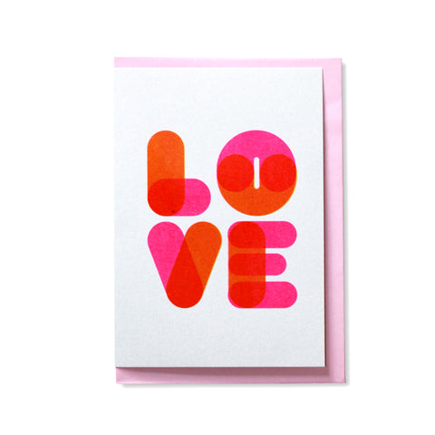 Love Greetings Card