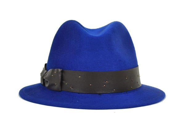 Lake Porkpie Hat Blue