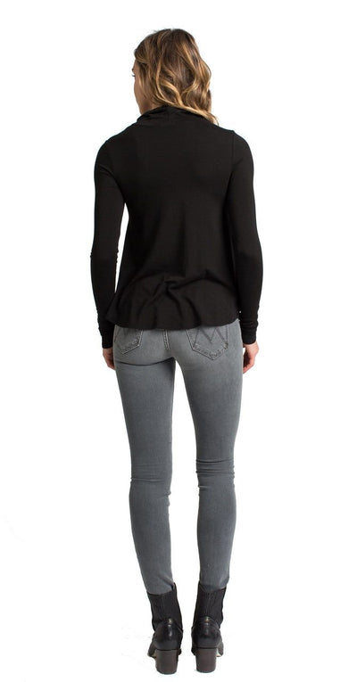 Portabella Turtleneck -Black