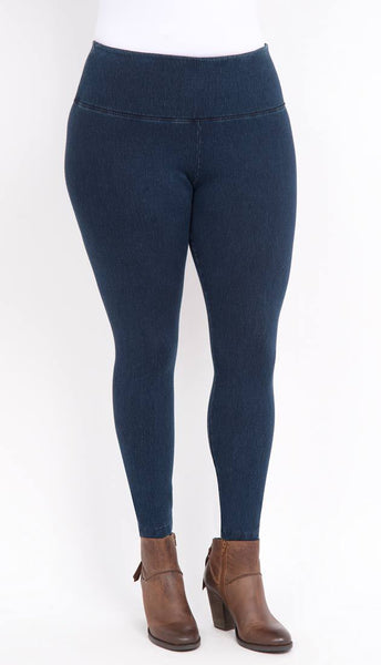 Denim Stretch Legging - Indigo Blue