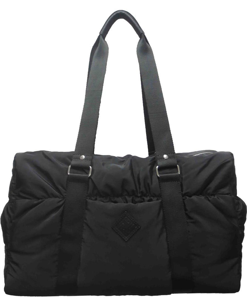 Nylon Duffel Bag - Black