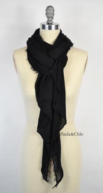 Cashmere Love Scarf Black
