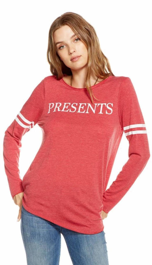 Presents Long Sleeve Tee