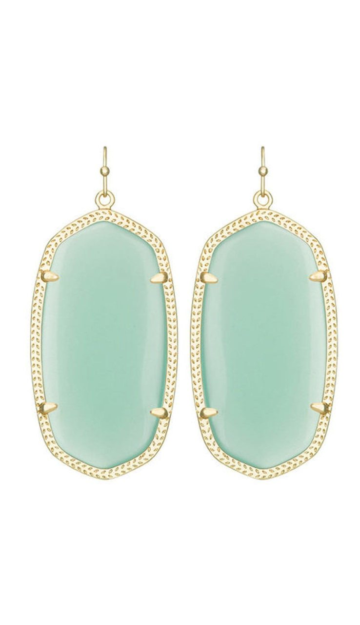 Danielle Earrings Chalcedony