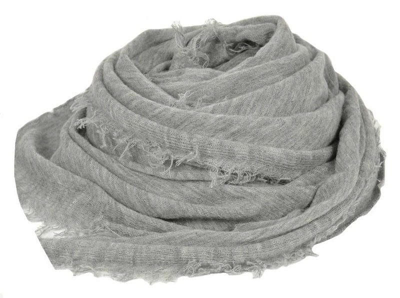Cashmere Love Scarf - Heather Grey
