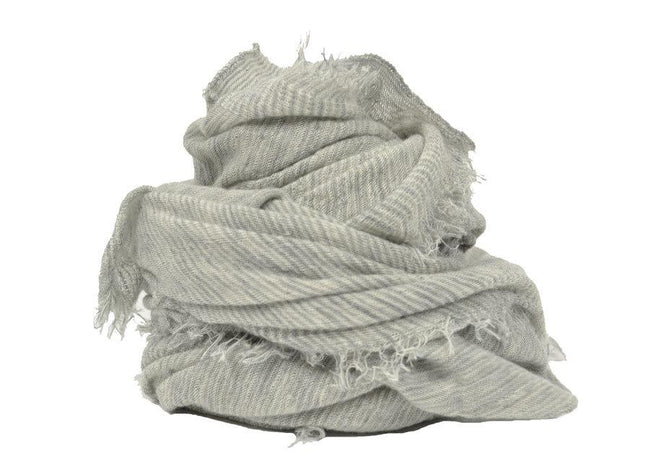 Love Stripe Scarf Grey Milk