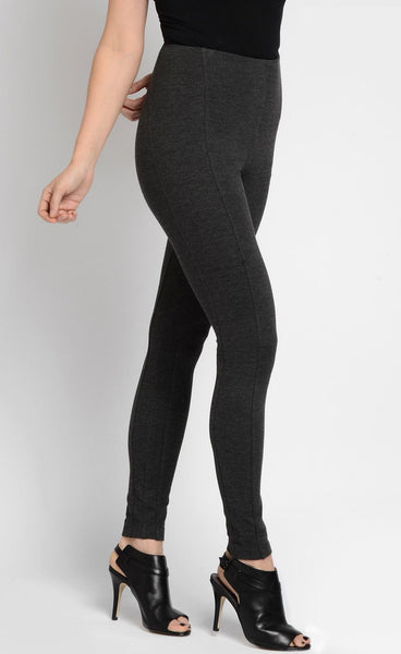 Mara Ponte Leggings - Charcoal