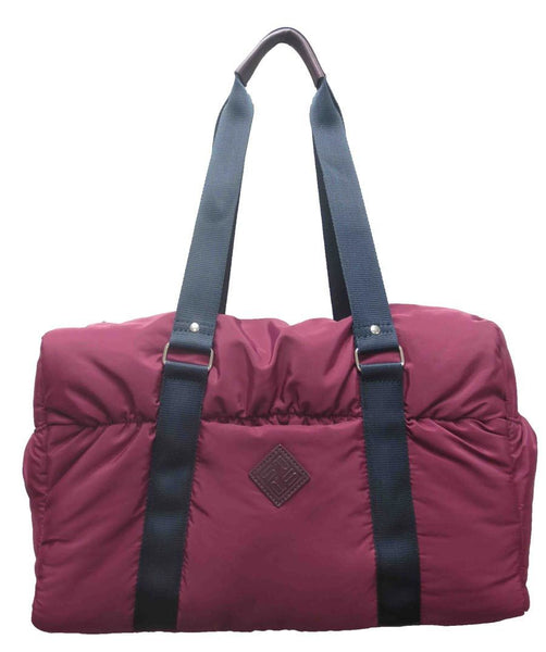 Nylon Duffel Bag - Berry