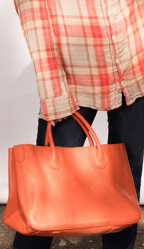 SMALL BECK TOTE MARIE ORANGE