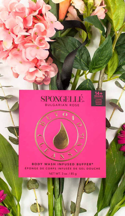 spongelle rose scented buffer