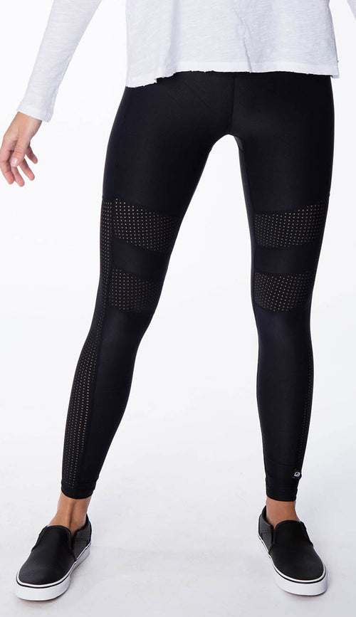 Pinhole Mesh High Rise Leggings