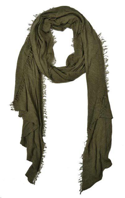 Cashmere Love Scarf - Military
