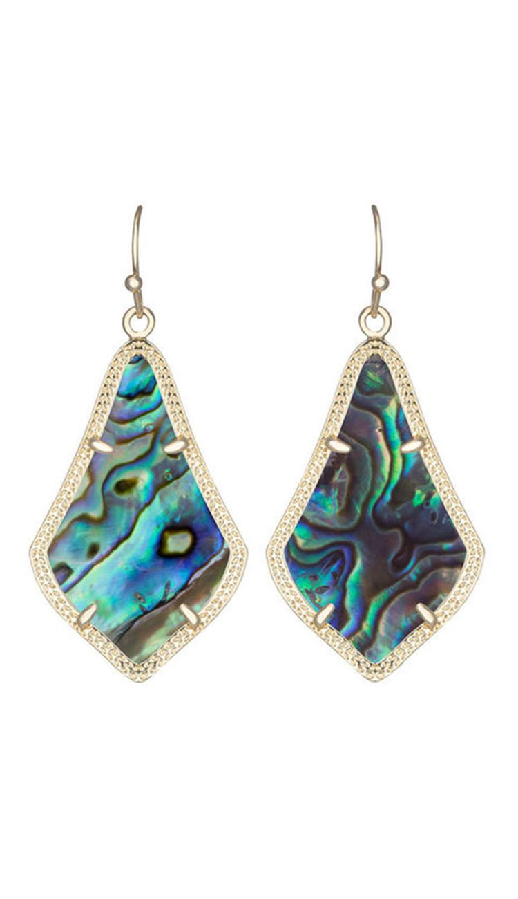 Kendra Scott ALEX EARRINGS IN ABALONE