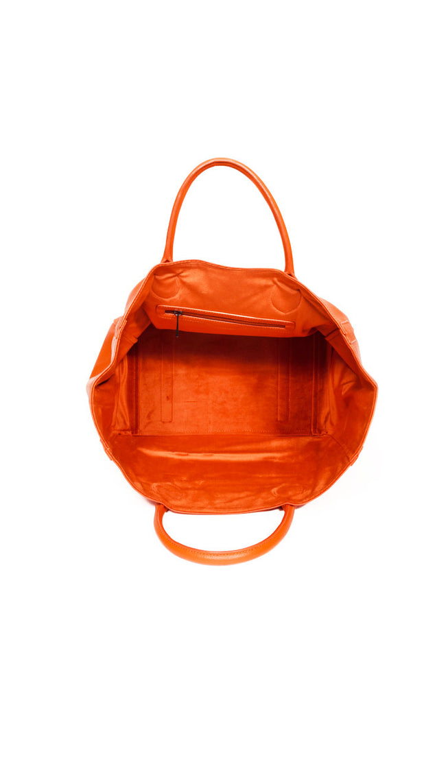Beck Medium Classic Tote - Marie Orange