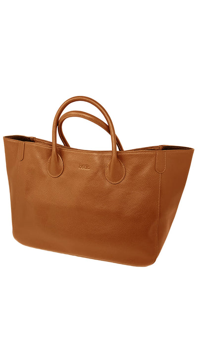 Beck medium tote teddy bear brown - paula and chlo