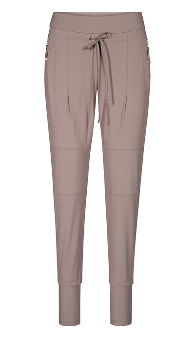 candy pant front view taupe