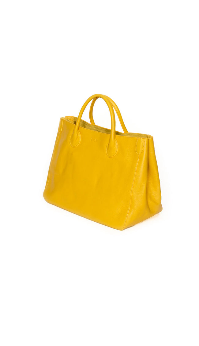 Beck Medium Classic Tote - Charleston Bright Yellow