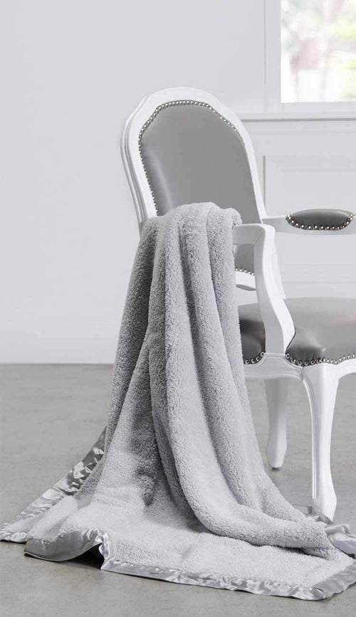 chenille adult blanket by the little giraffe