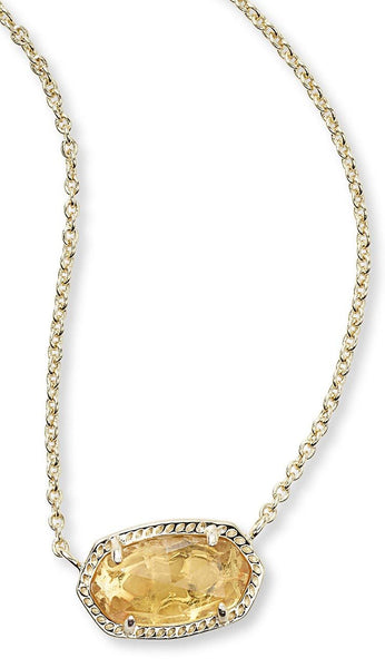 Citrine Elisa Necklace by Kendra Scott