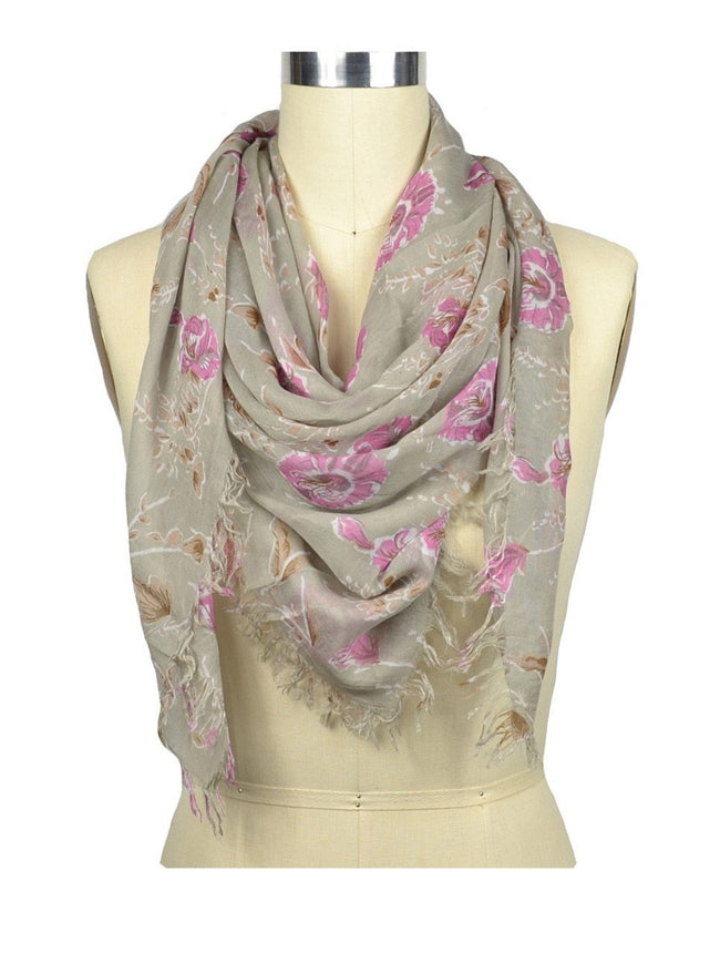 Paloma Floral Print Scarf