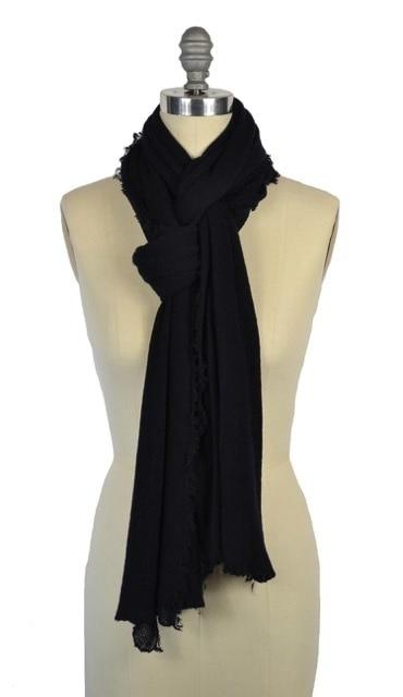 Cashmere Love Scarf Navy Blue